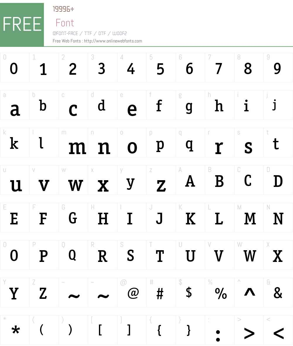OfficinaSerITCStd Font Screenshots