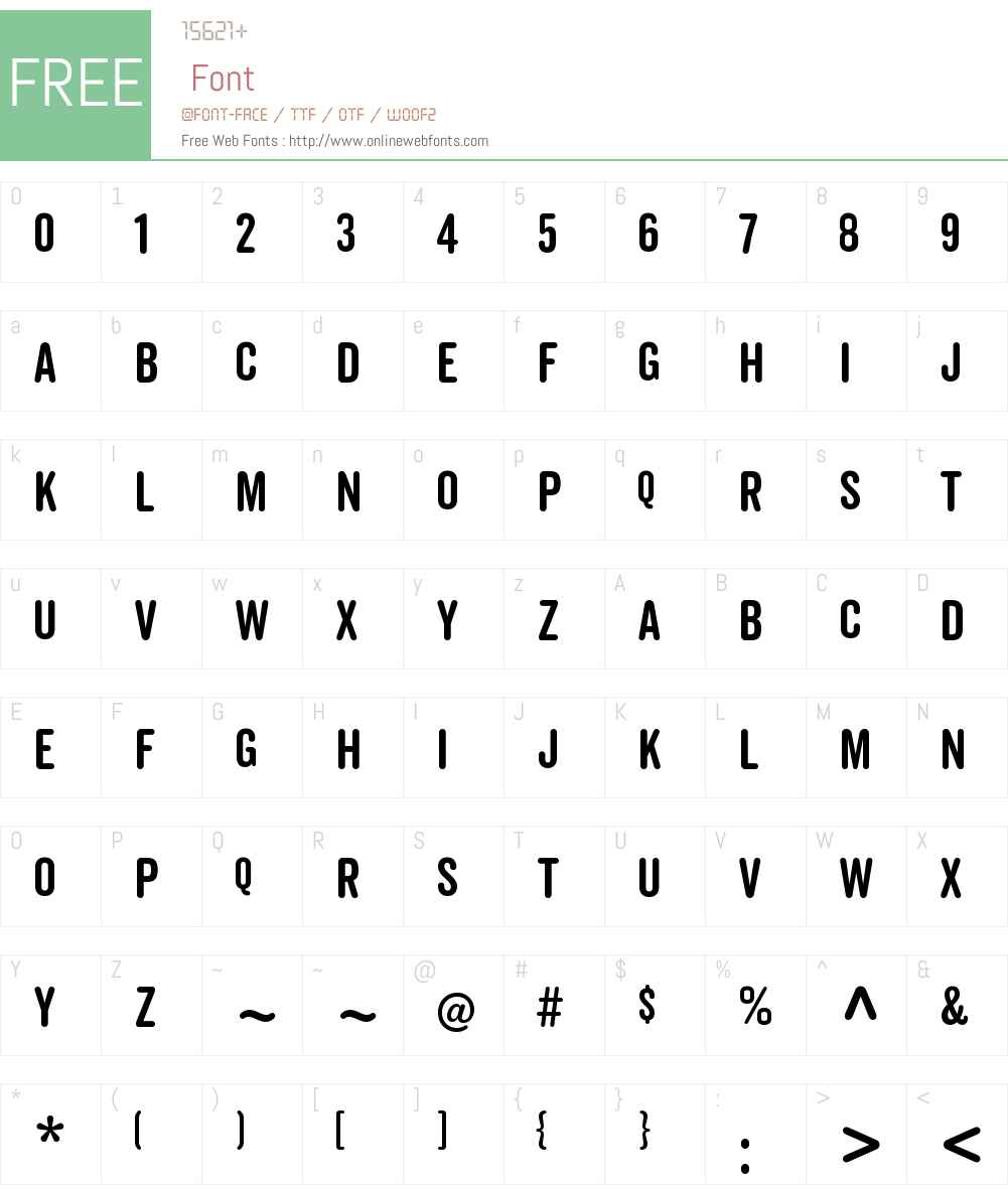 Veneer Clean Round Font Screenshots