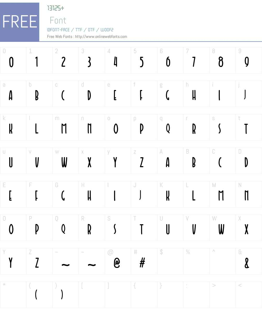 Faishal Font Screenshots