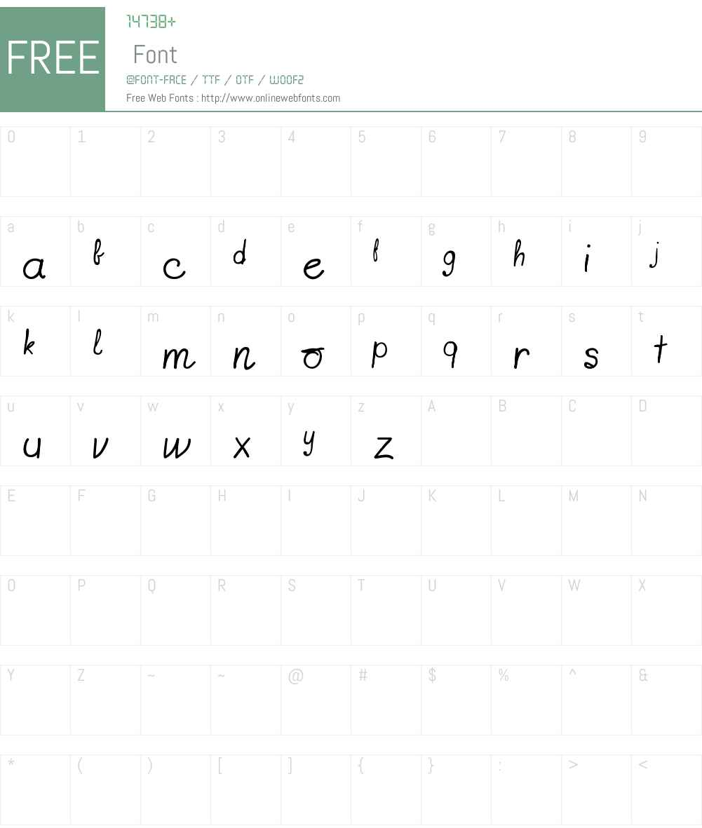 free for fonts-lab subscribers Font Screenshots