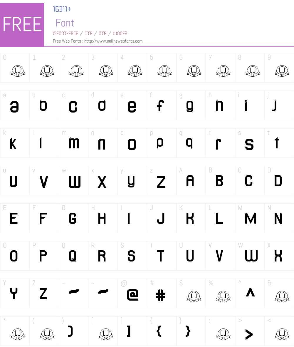 LJ Design Studios Lidea Font Screenshots