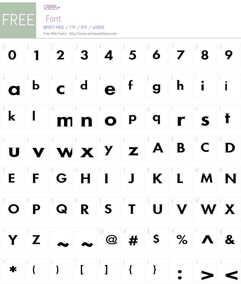 MetraSerifW01-Medium Font Screenshots
