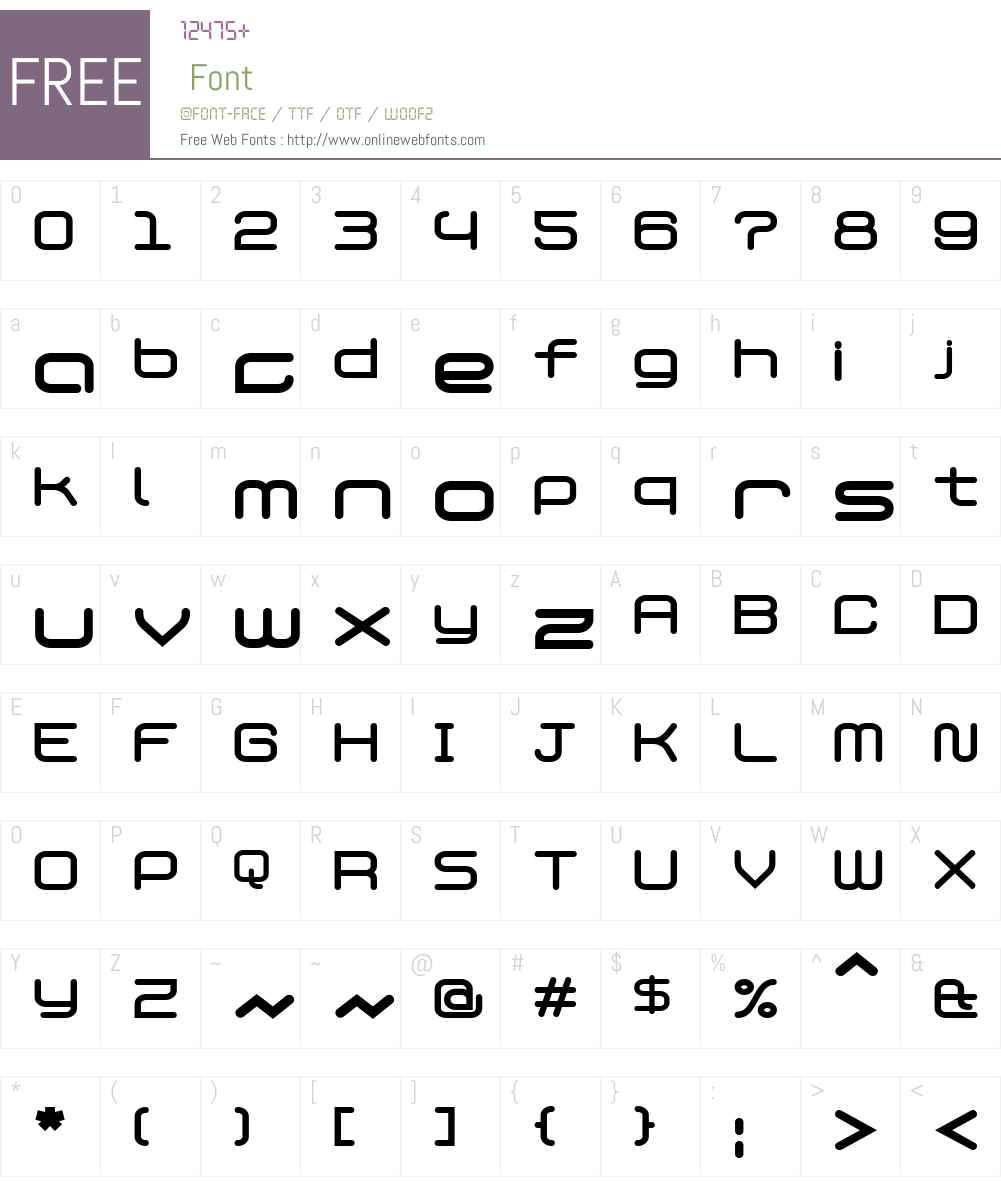 PhantomBold Font Screenshots