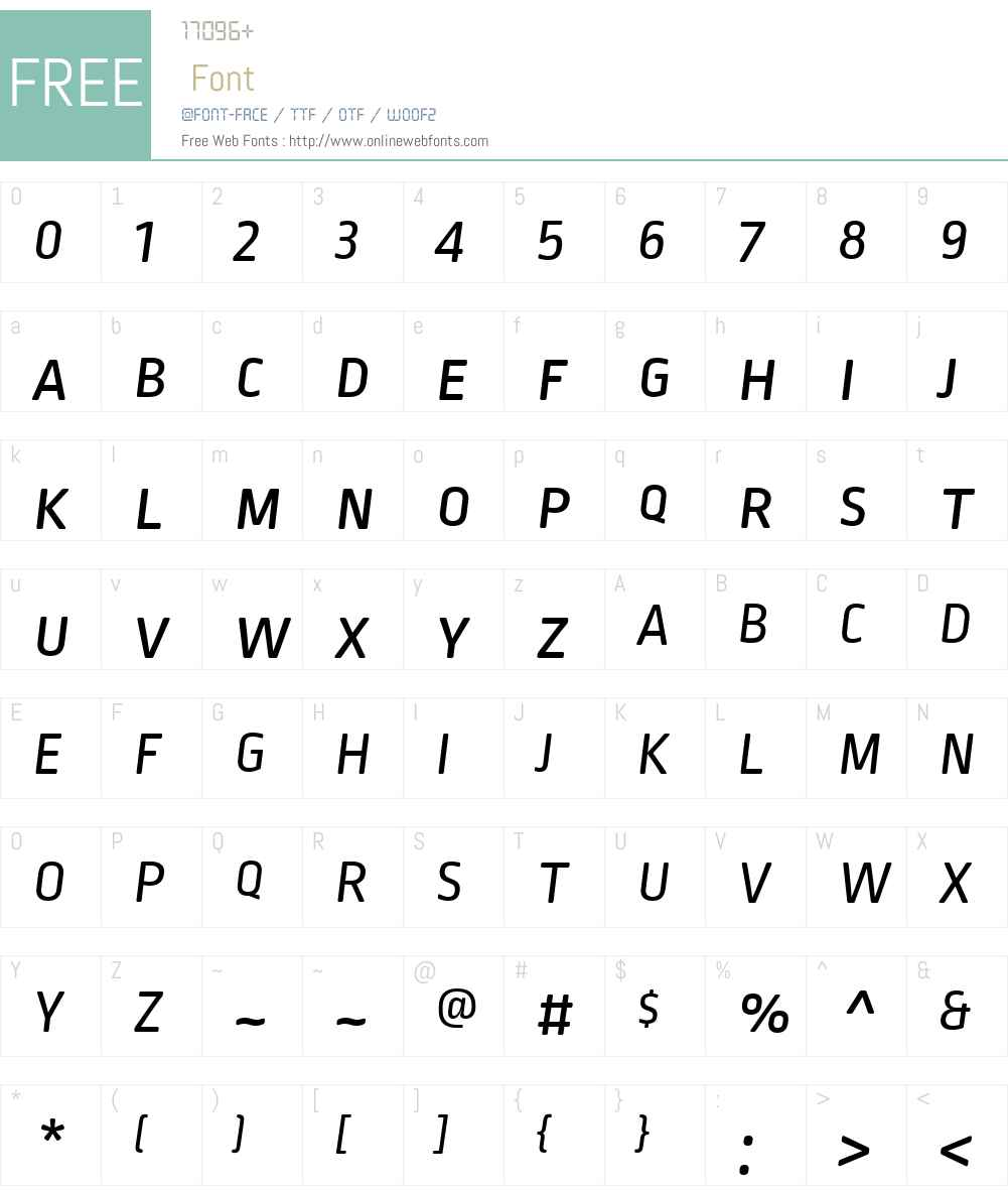 Ropa Soft Pro Font Screenshots