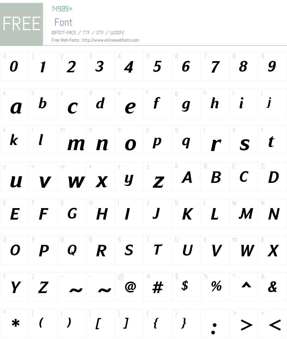 Ripe Apricot Font Screenshots