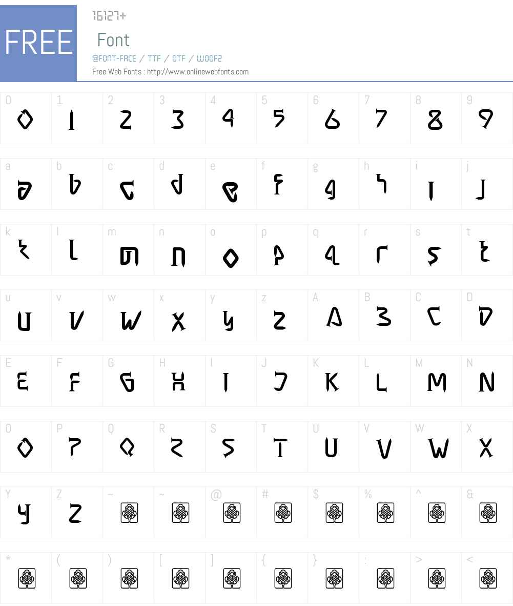 masra Font Screenshots