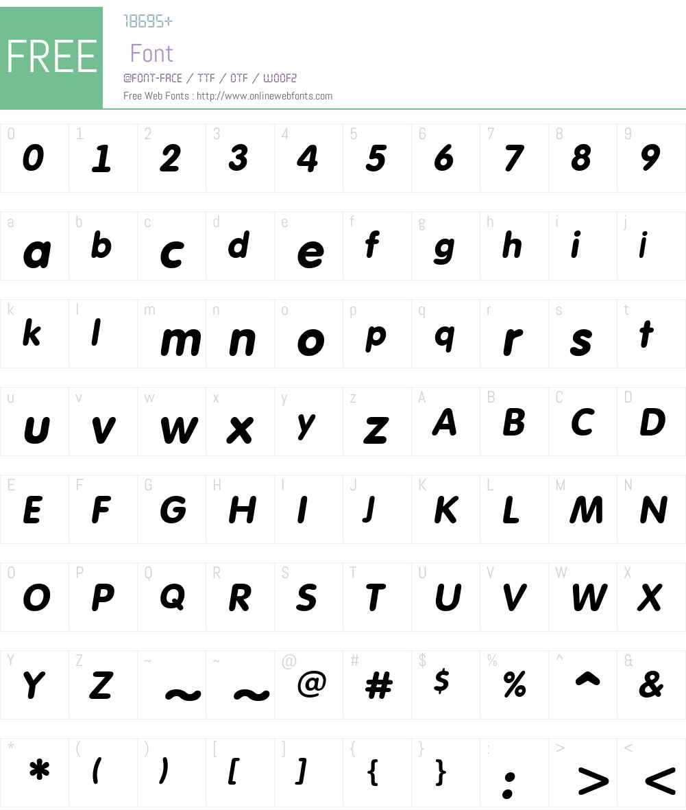 a_FuturaRound Font Screenshots