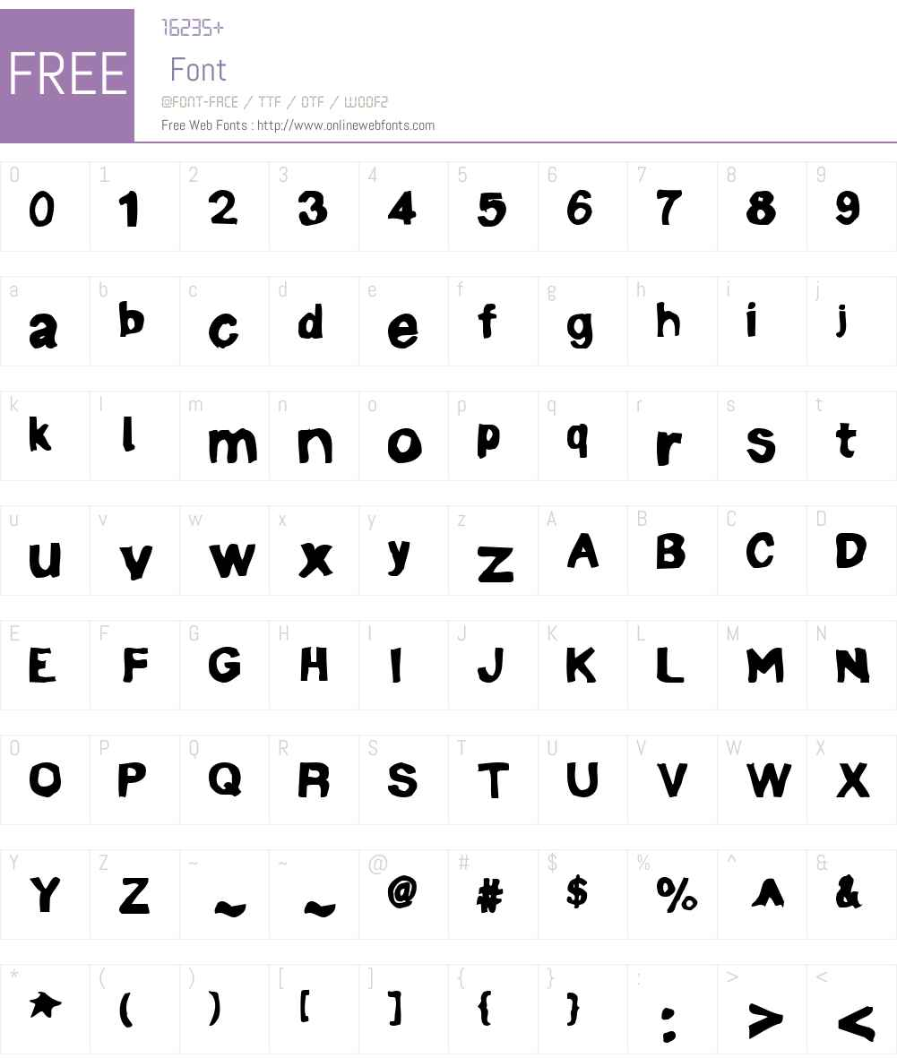 Linotype Mineru Font Screenshots