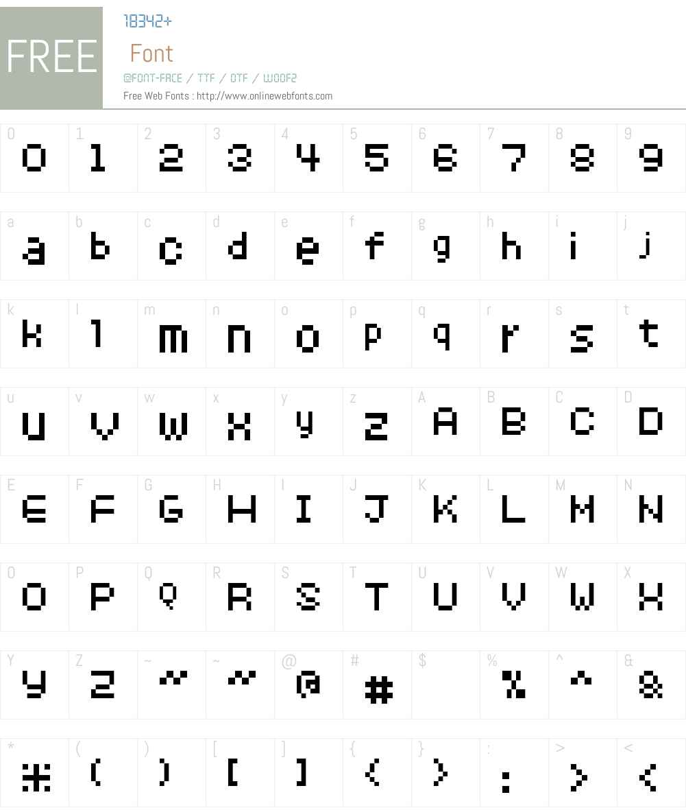8pxbus Font Screenshots