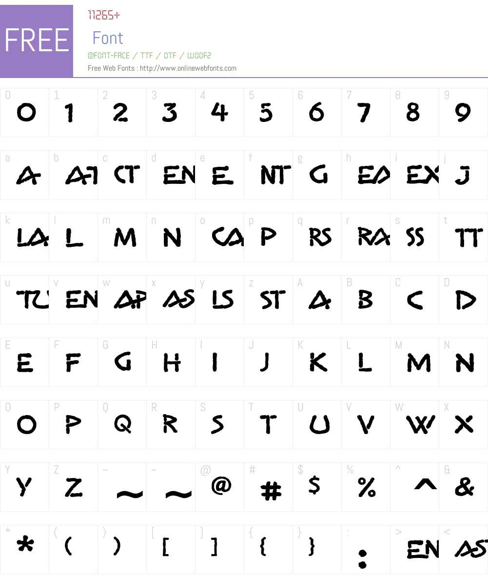 Gema ITC Font Screenshots