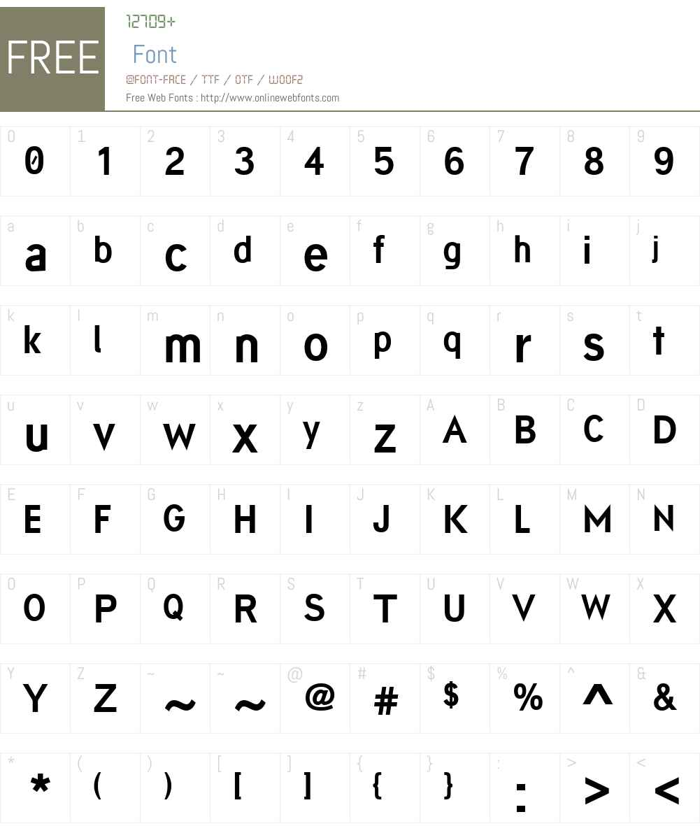 Arsapia Font Screenshots