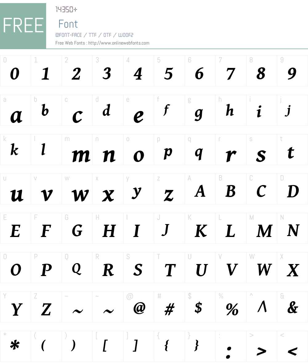 Gentium Book Basic Font Screenshots