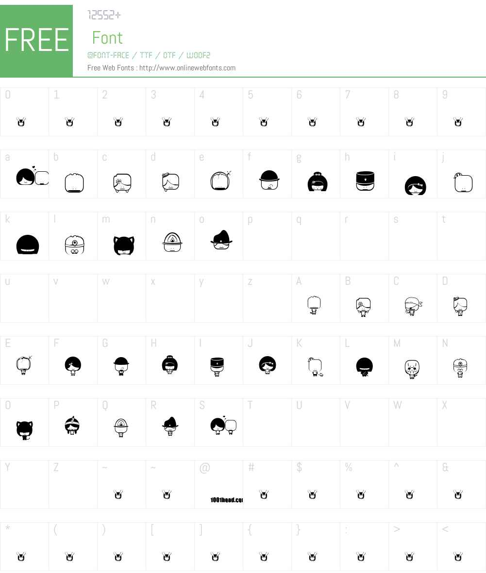 Toy Stum Font Screenshots