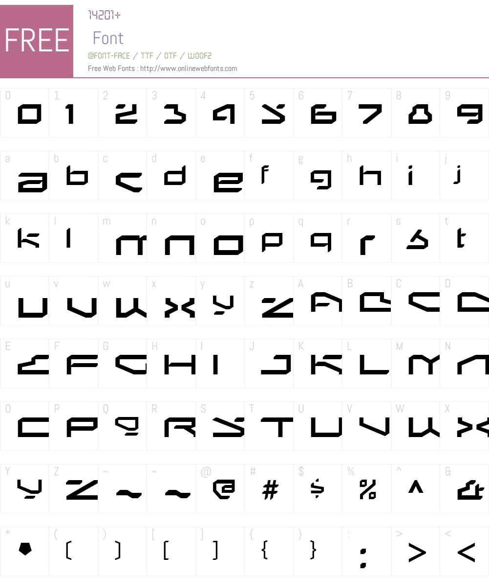 BetaphidW00-Regular Font Screenshots
