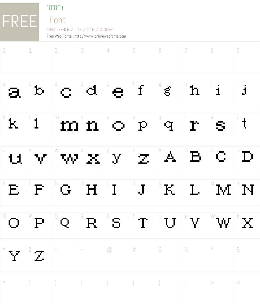 PIXromaPL Font Screenshots