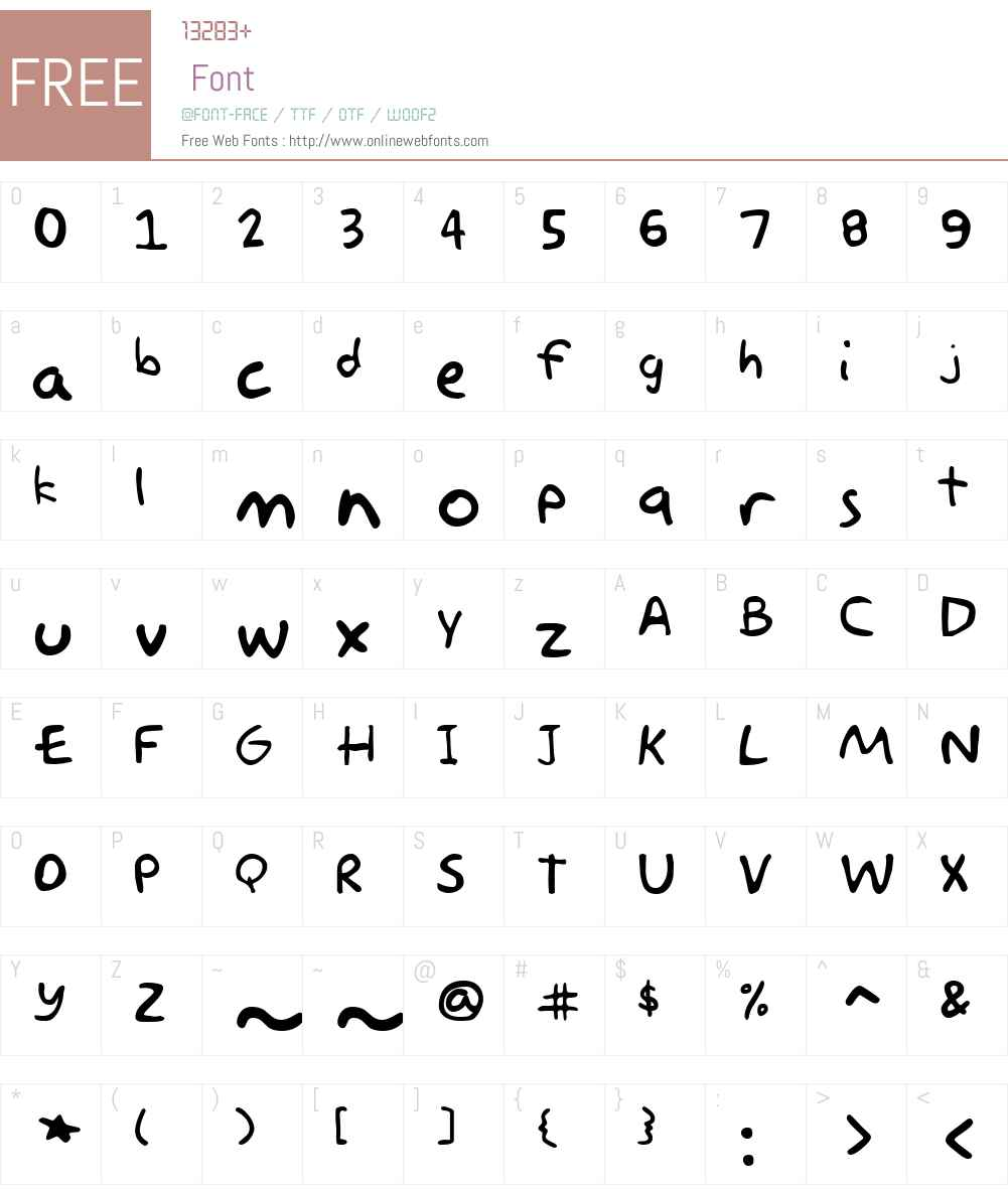 Akbar Font Screenshots