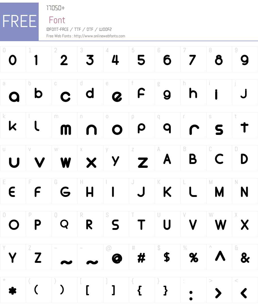 TheInlinesNoInlinesW-NoIns Font Screenshots