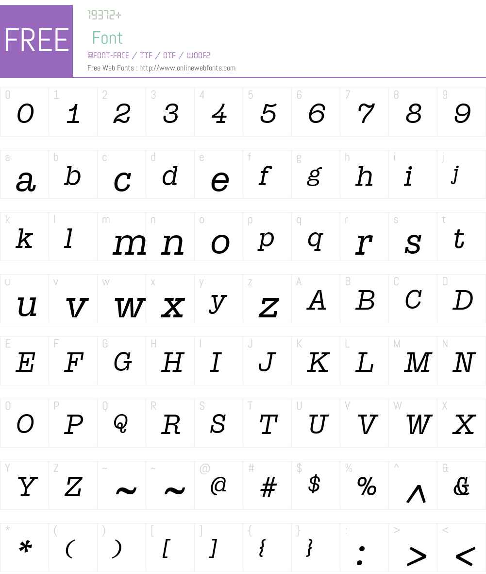 SuomiSlabSerifW01-BookIt Font Screenshots
