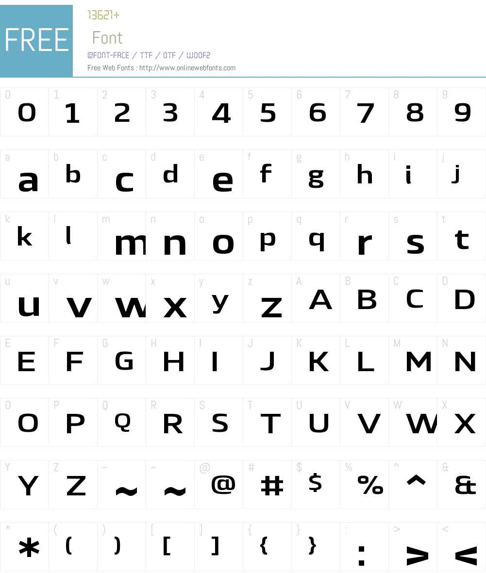 LytigaW01-ExtendedBold Font Screenshots