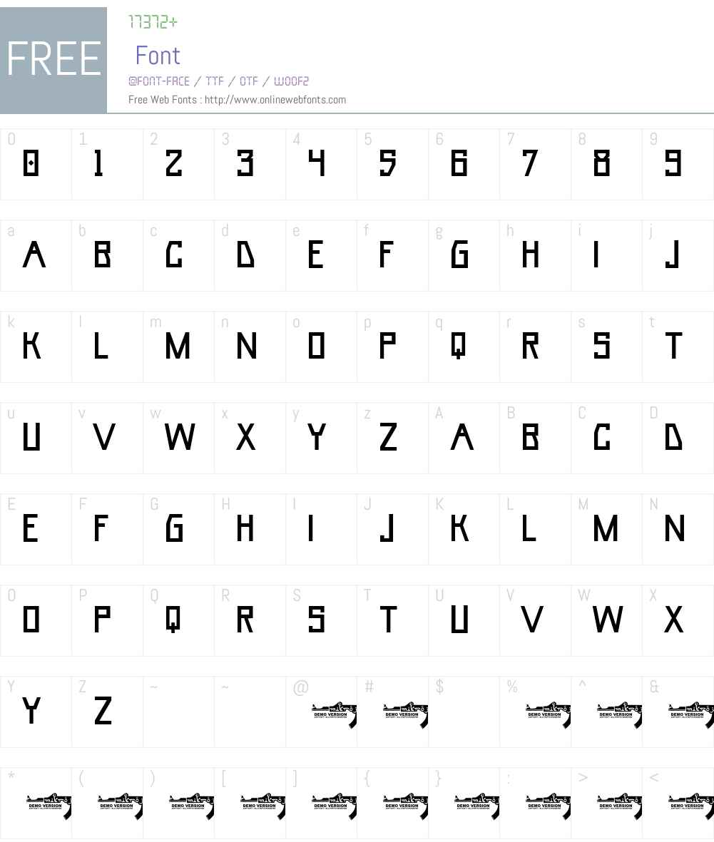 Umar Base Font Screenshots