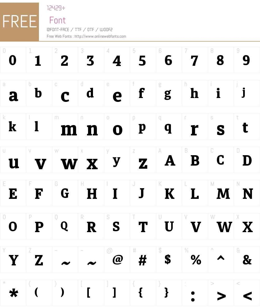 DiariaW00-ExtraBold Font Screenshots