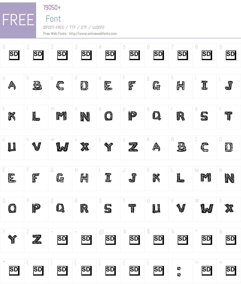 Flak Jacket Font Screenshots