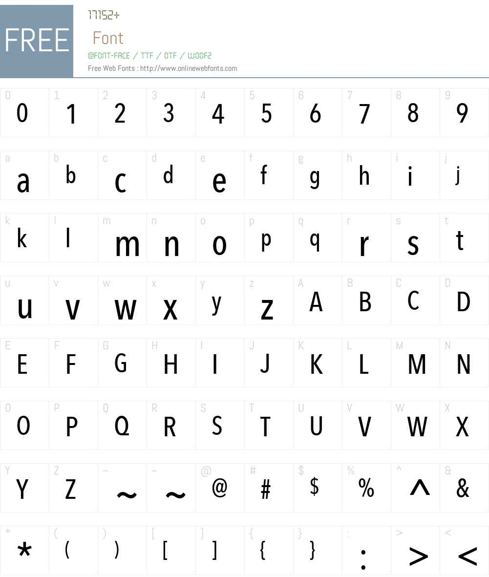 Avenir Next Font Screenshots