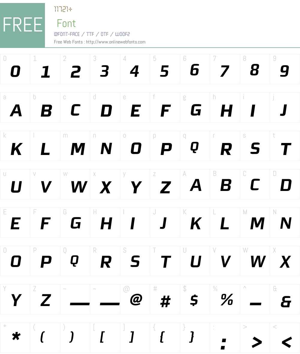 MorganSnExpert Font Screenshots