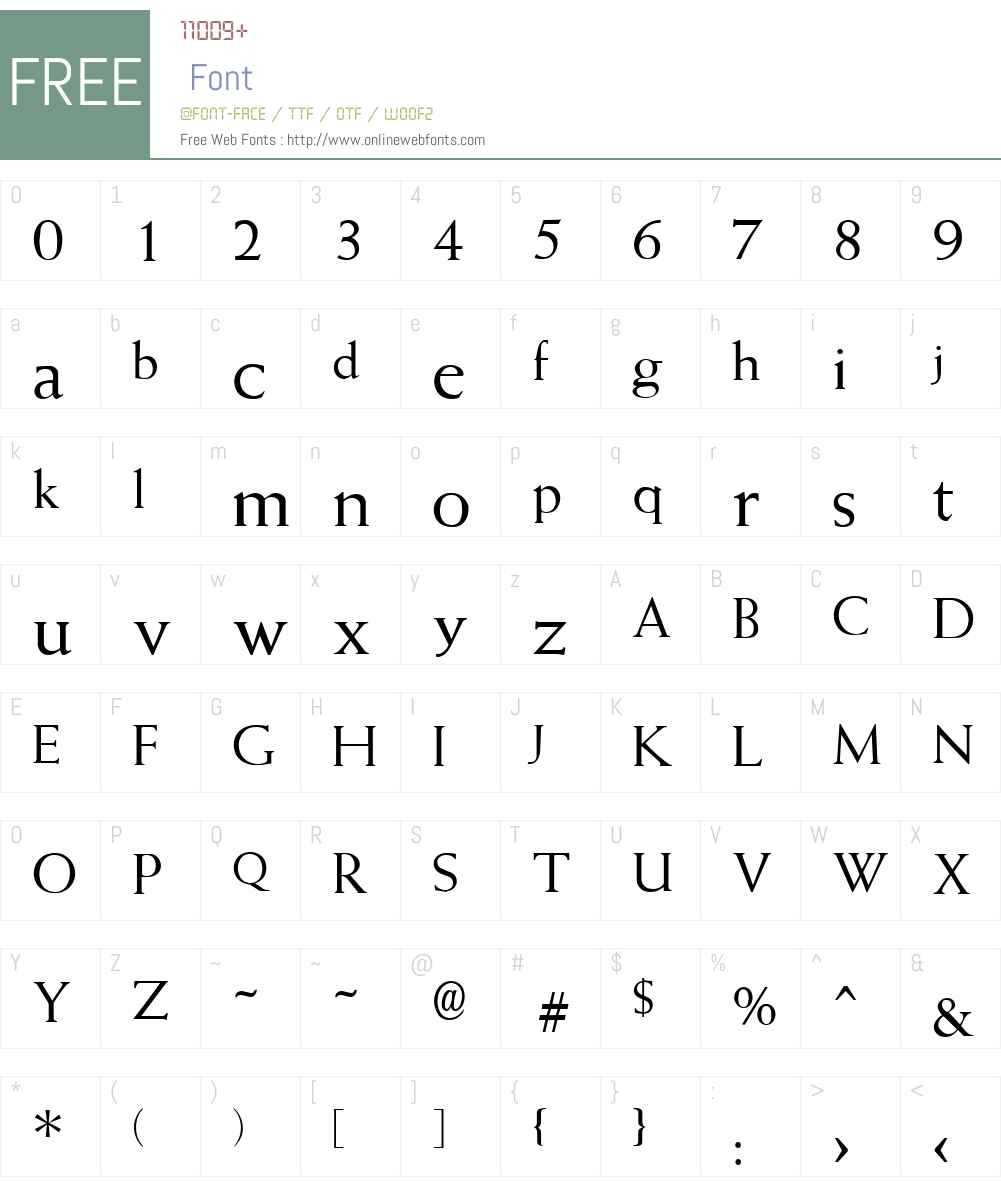 QTWeise Font Screenshots