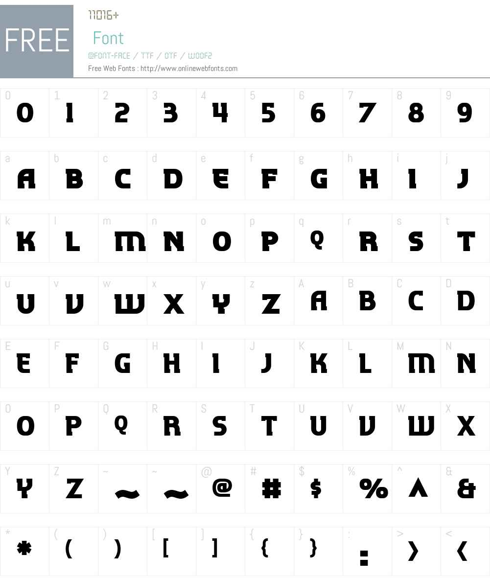 P22 Hedonic Font Screenshots