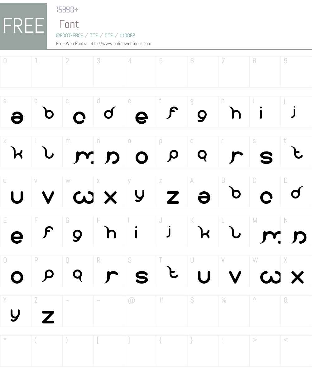 frankenstein monster Font Screenshots