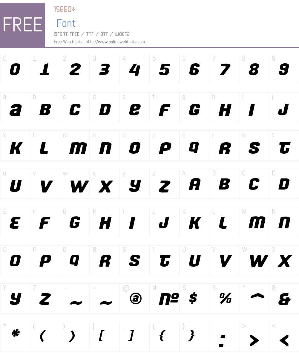Fono Font Screenshots