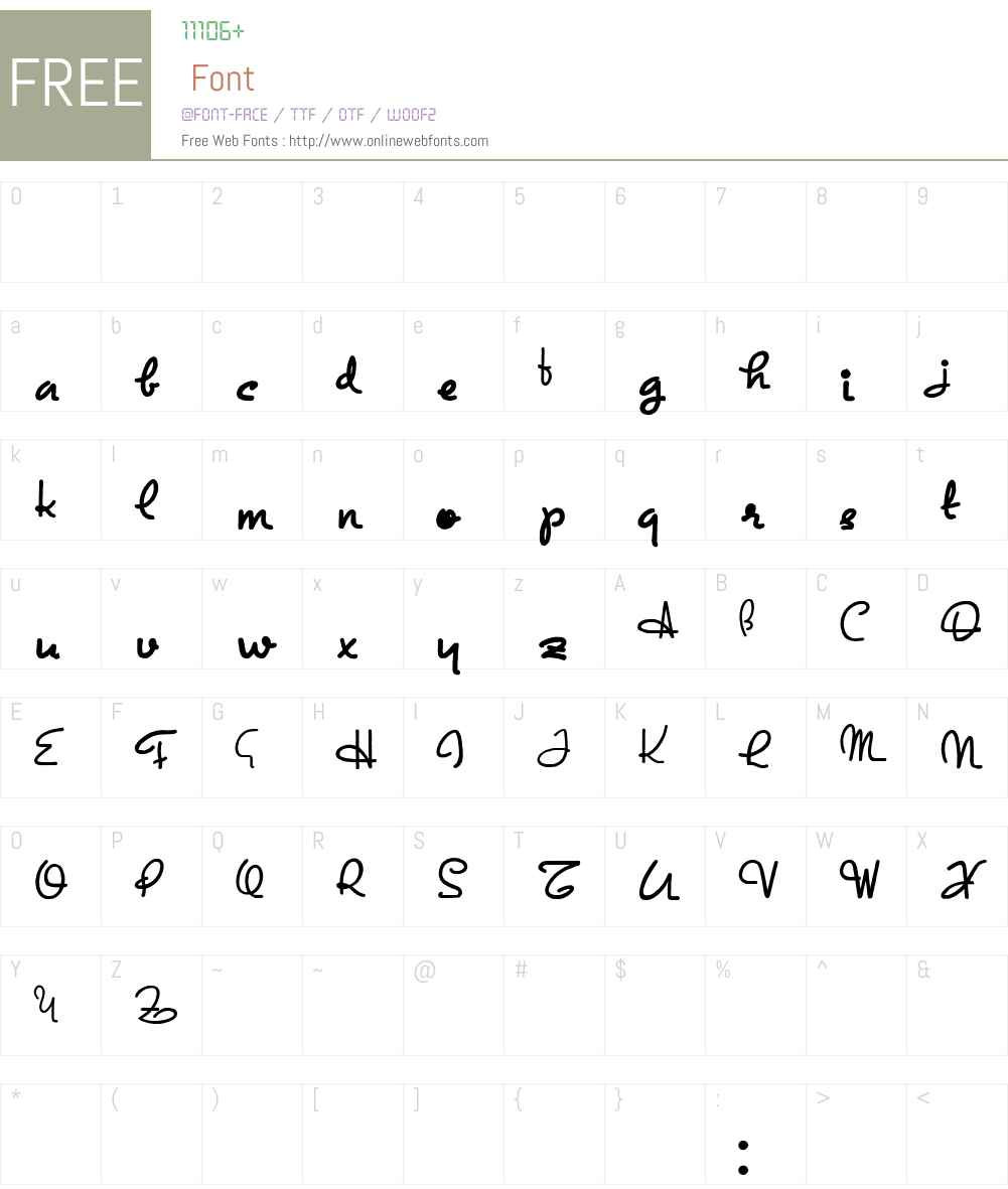 Exposition Font Screenshots