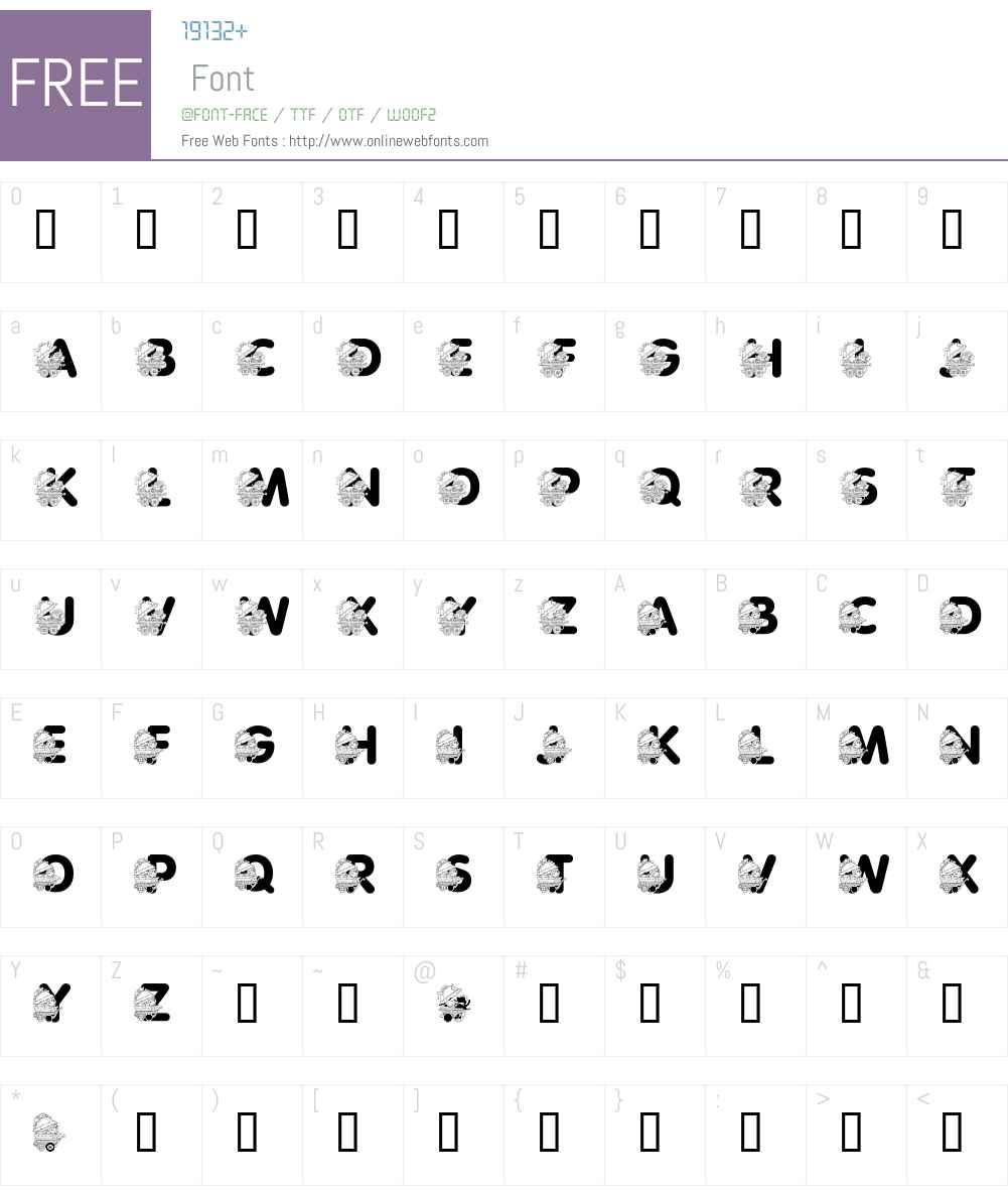 LMS Pretty Baby Pony Font Screenshots