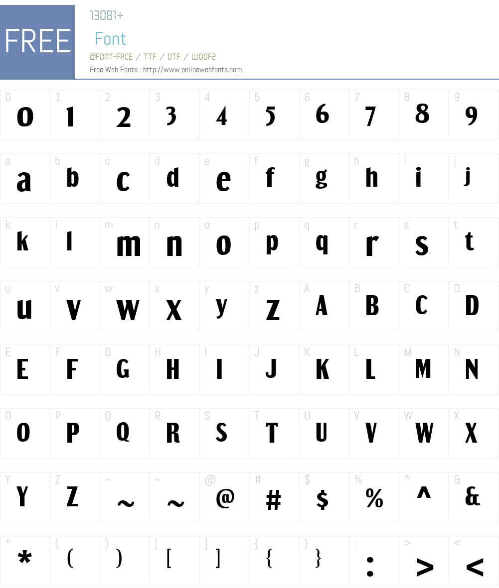 DreamOrphanageW00-Heavy Font Screenshots