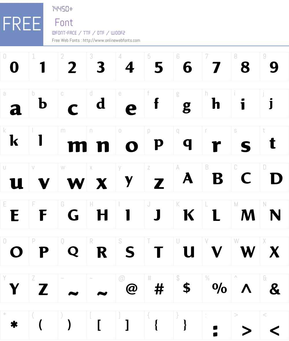 Linex Sweet Std Font Screenshots