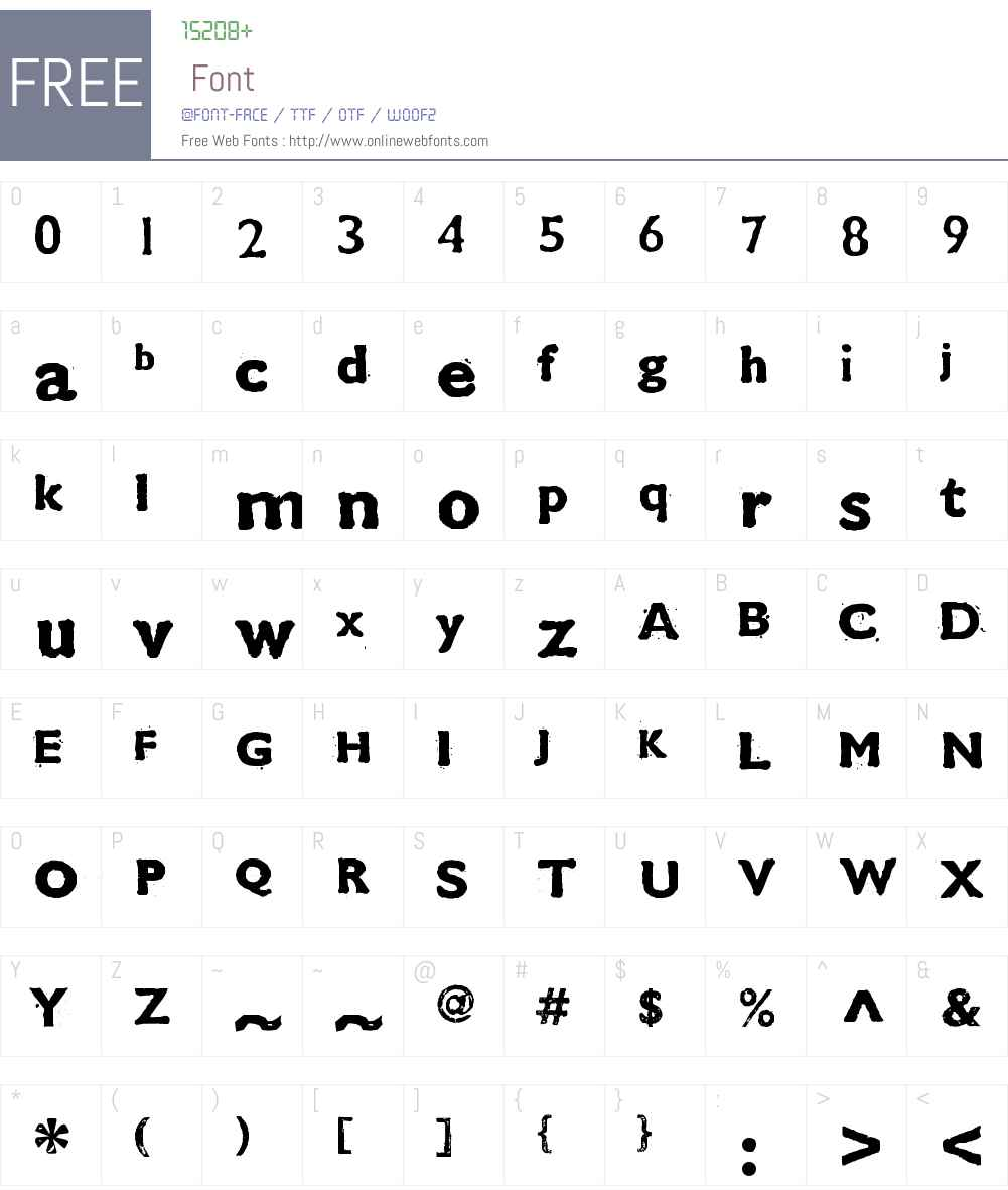 CMDestroy Font Screenshots