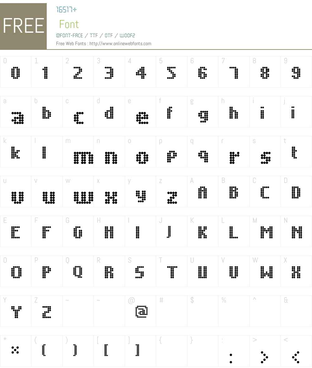 Unintended Font Screenshots