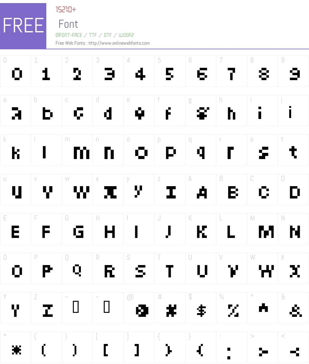 Intercom Font Screenshots