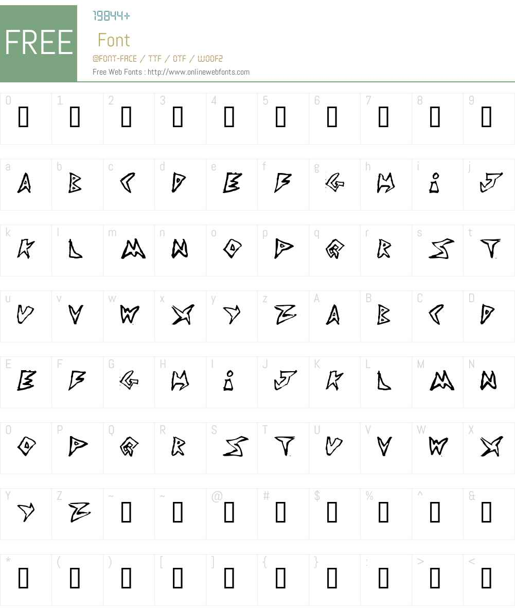 Jim s Font Font Screenshots