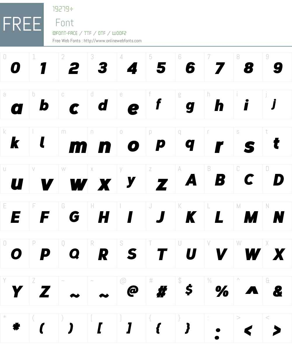 CorbertCondensedW00-BlackIt Font Screenshots