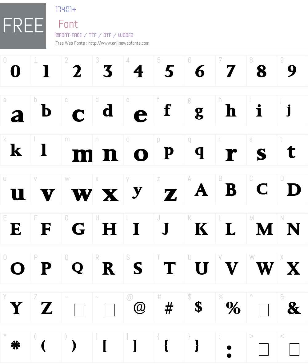 Prorenata Display SSi Font Screenshots