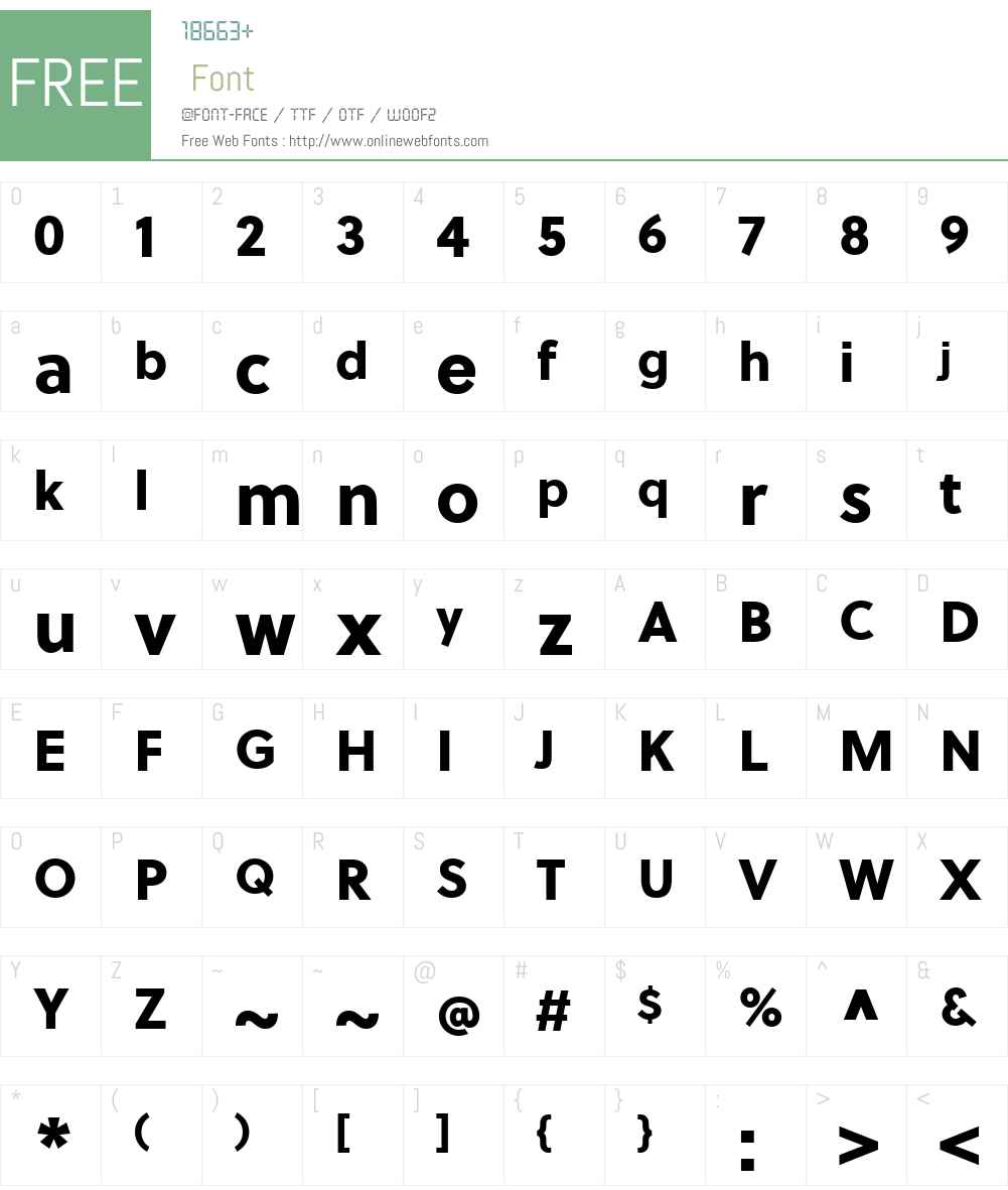 SoleilW01-ExtraBold Font Screenshots