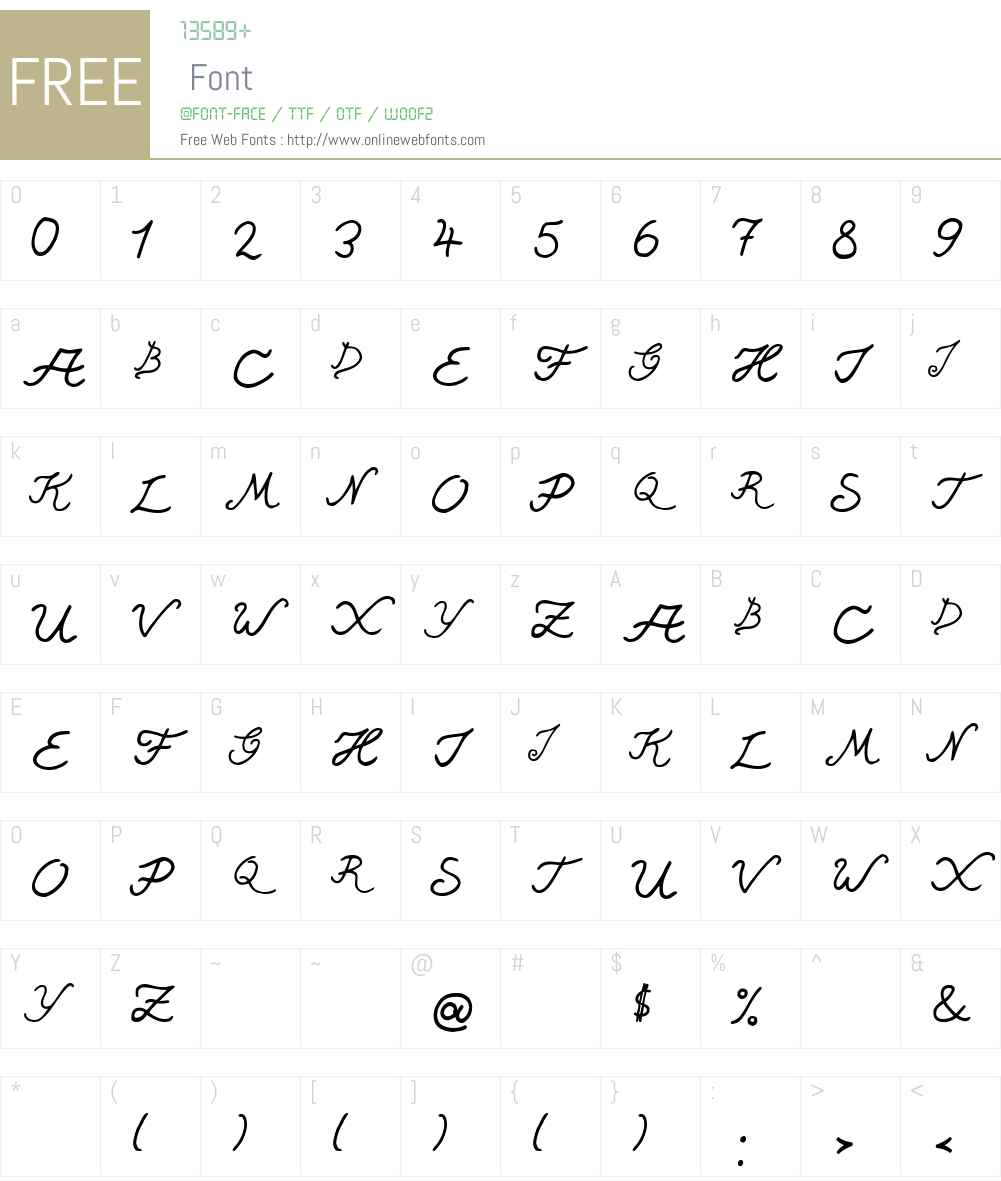 SingapurLightExpert Font Screenshots