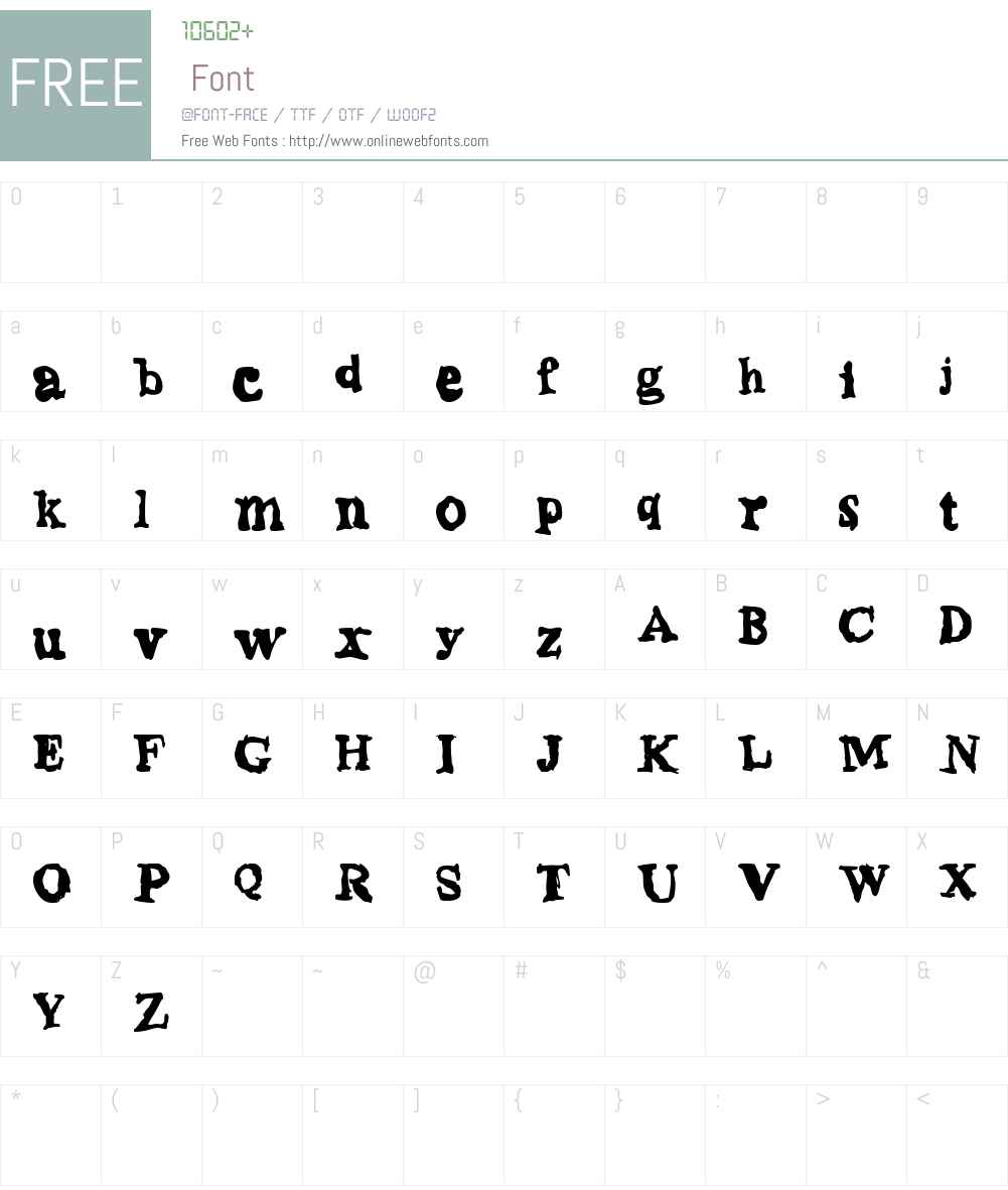 phentype Font Screenshots