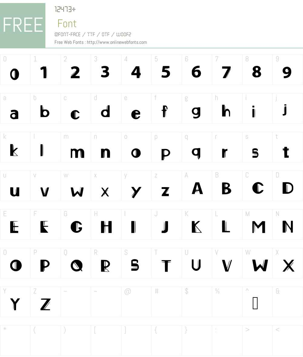 original_font Font Screenshots