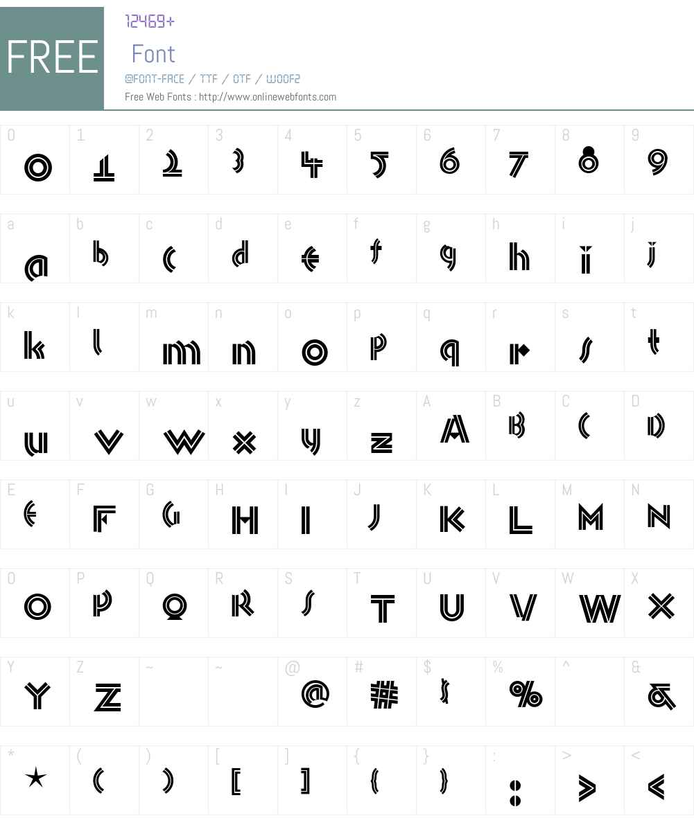 Monkey Business NF Font Screenshots