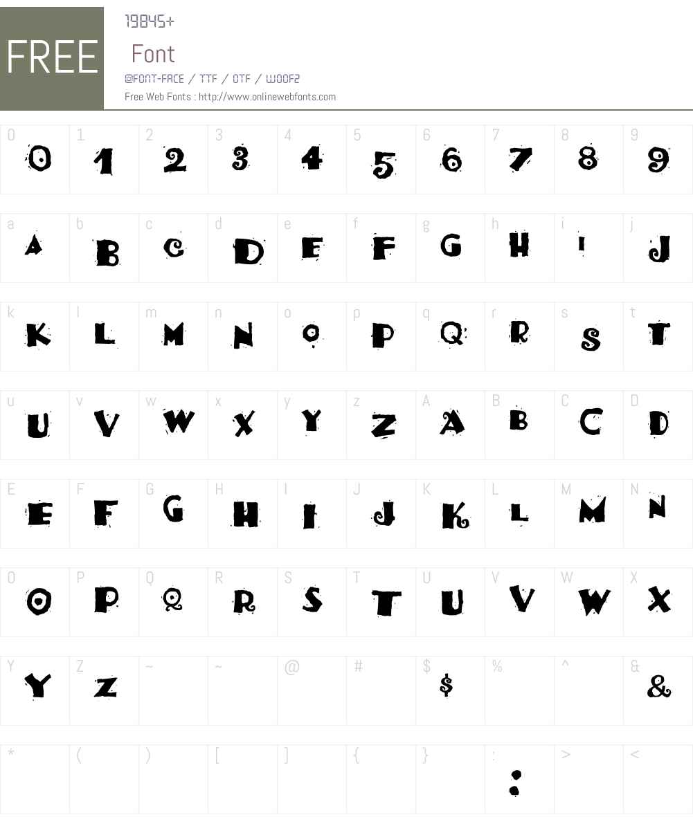 HotTamale Font Screenshots