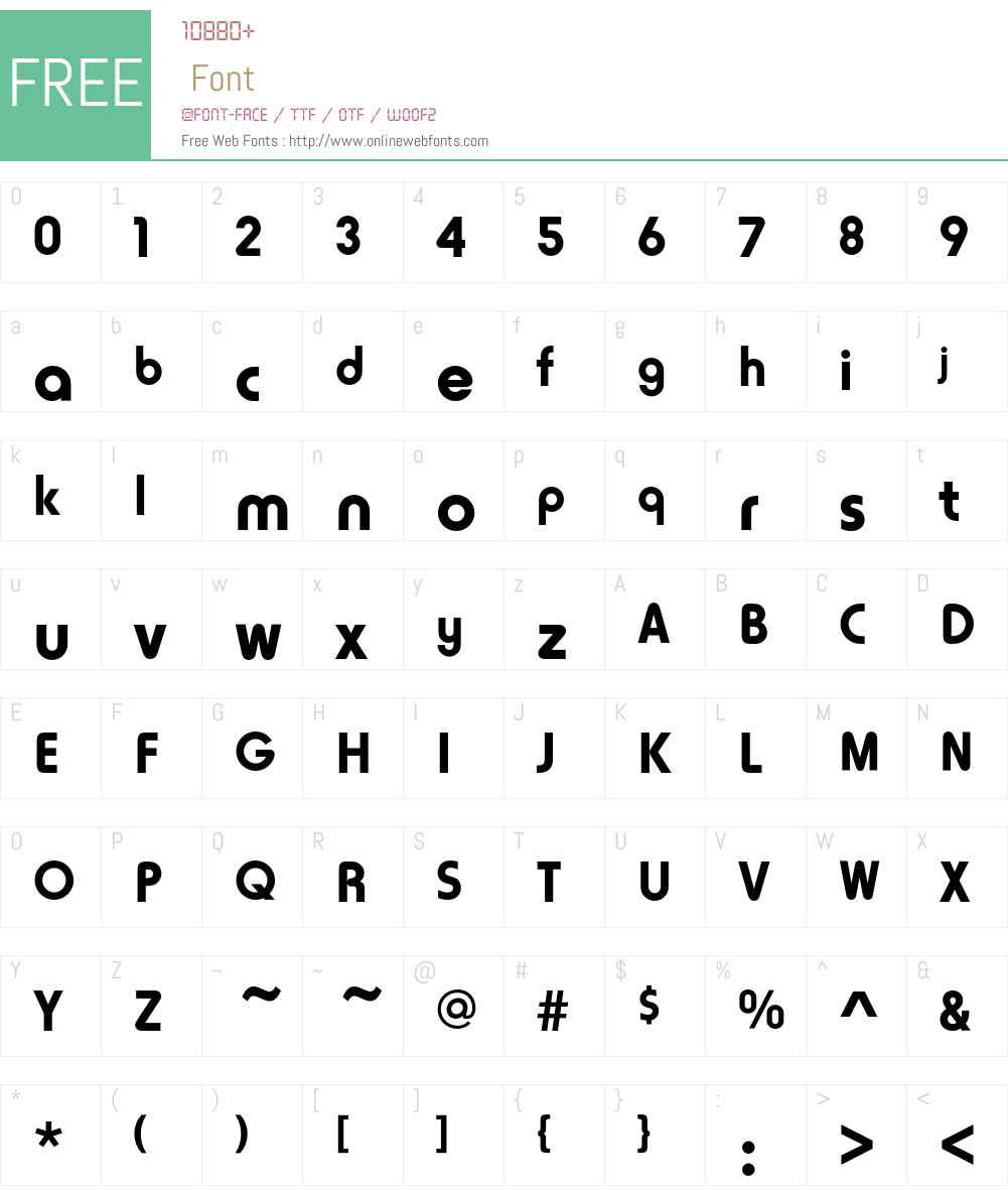 Horatio D Font Screenshots