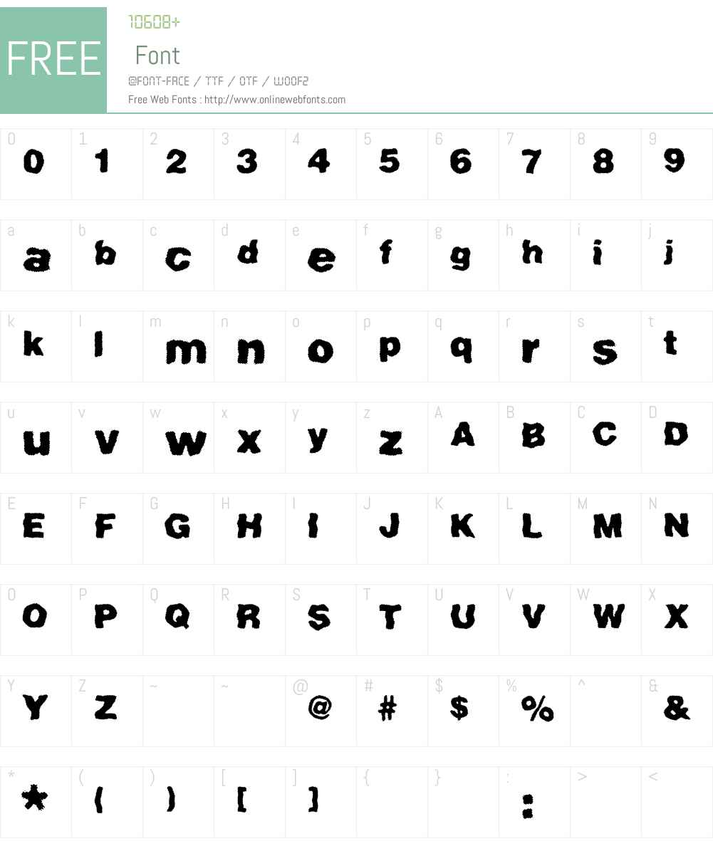 Hatchett Font Screenshots